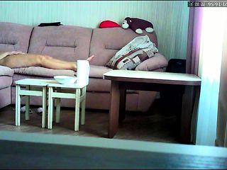Hidden camera masturbation homemade