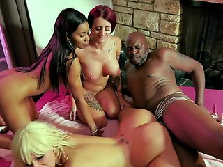 They Surprised Their Friend With A Big BBC