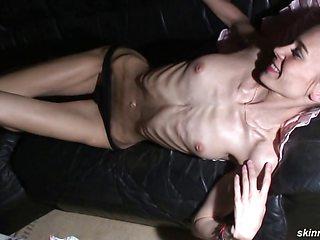 Skinny Brunette