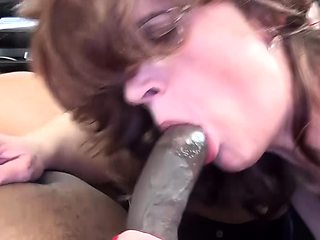 mom rough big cock fucked by her black stepson