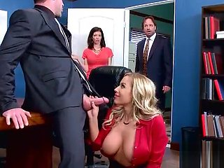 (Olivia Austin) Hot Office Girl With Big Tits Love Hardcore Sex movie-23