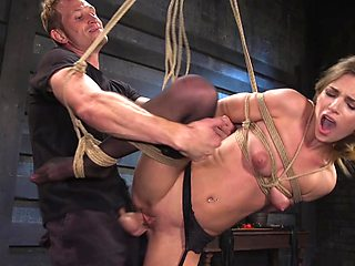 Brutal BDSM sex play for the submissive amateur