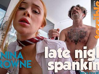 Late Night Spanking - Prologue - SexLikeReal
