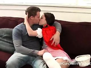 Doug Highpoint Pounds Emily's Tight Shaven Pussy - Doug