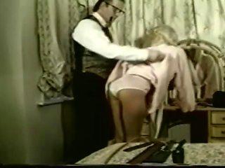 spanking panty wedgie