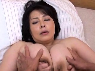 Topnotch asian mature Misuzu Tomizawa banged hard