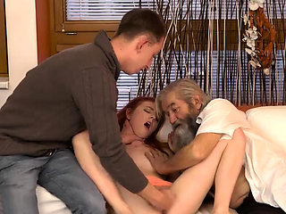 DADDY4K. Old gentleman really wants to try young vagina