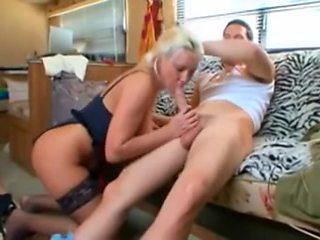 Hot Busty Older Cougar Pounded