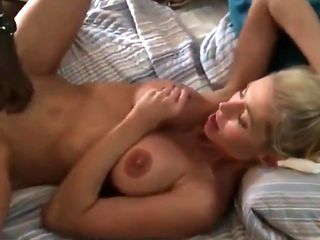 Husband Shares His Busty Wife With Two BBC On Vacation