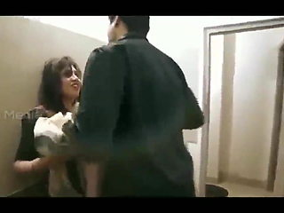 Teacher fucked by shy student in classroom