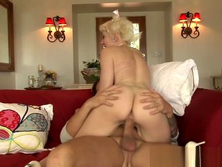 Bigtitted mother in law anally pounded by guy
