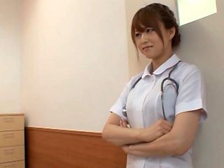 Akiho Yoshizawa Japanese naughty nurse has sex in hospital