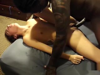 Pale Innocent Daddys Girl Takes A Huge BBC