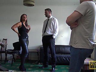 PASCALSSUBSLUTS - UK MILF Sienna Hudson Rough Fucks Master