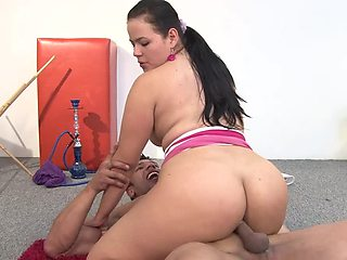 Her curves inspire his boner and her pussy needs it inside her