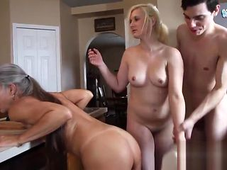 Freeze n Shut Up! - Threesome Taboo Roleplay
