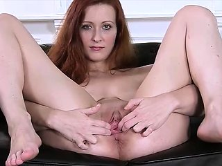 Redhead Spreads Her Snatch in this free preview clip