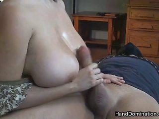 Big tits hard domination hands