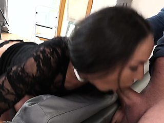 EXPOSED CASTING - Anal audition with skinny Russian babe