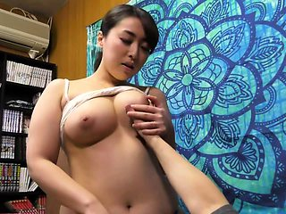 BBW Japanese mother son taboo family roleplay Subtitles