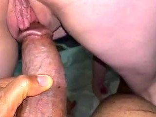 Wife takes BBC from behind