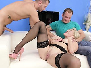 Wife Brittany Bardot Anal and a Creampie