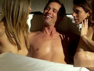 Regan Brooks nude foursome sex from Chemistry S01E13 - HD