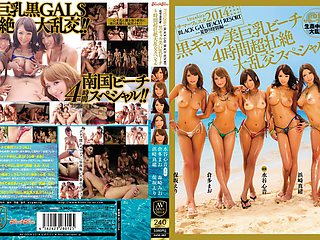 Fabulous Japanese girl Eri Hosaki, Mao Hamasaki, Mao Kurata, Rio Fujisaki in Exotic group sex, face sitting JAV scene