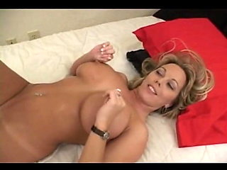 Blonde big tits milf fucks good (MC)