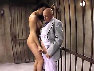 Old Gentleman loves seeing naked jades in front of him