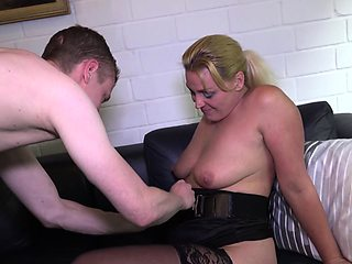 REIFE SWINGER - Hard fucking with mature German couple