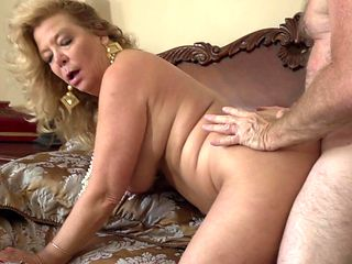 Blonde finds it exciting to be dicked in front of the camera