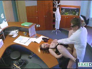 New assistent loves fuck
