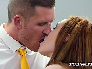 Ella Hughes Earns Her Job by Fucking the Boss - Private