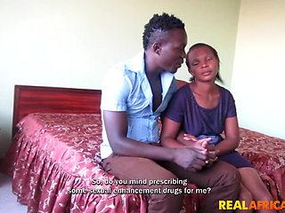 Fucking my black girlfriend in first homemade porn