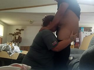 Lonely mom craves young dick