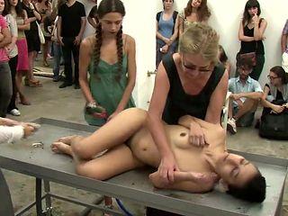 nude public