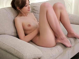Sensuous girl pleasures pink cunt until she is cummin15vUi