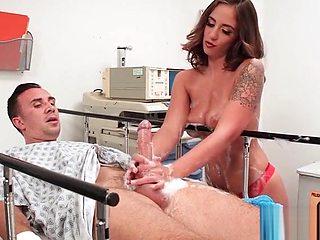 Hardcore Sex Between Doctor And Hot Sluty Patient (Layla London) vid-14