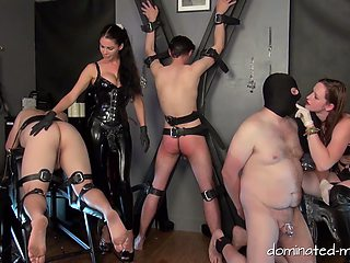 Welcome to the perverse community education of 3 completely useless slave pigs