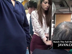 Hot Asian Teen Gets Fucked On The Public Bus