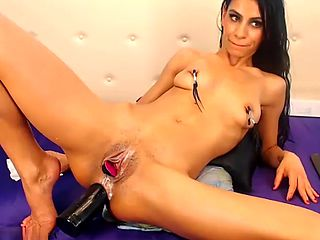 Prolapse party sandra triple dildo anal pruut ass p.5