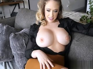 MILF Step Mom Big Tits & Ass Kagney Linn Karter POV Fucked Twice From Son