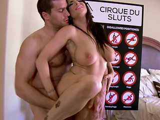 Sexy slut are getting fucked in the Brazzers sex challenge