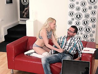 EXPOSED CASTING - Audition sex for Russian babe Lola Taylor