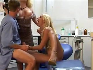 French nurses getting banged in a vintage porn movie