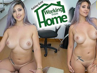 Ashley Grey in Working From Home - VRLatina