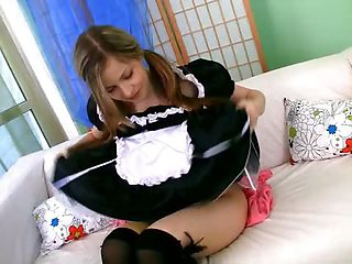French maid at your service