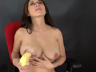 Lactating Secretary - Andrea