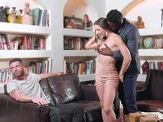 Cuckold husband is turned on from watching Abella Danger fucked by a BBC